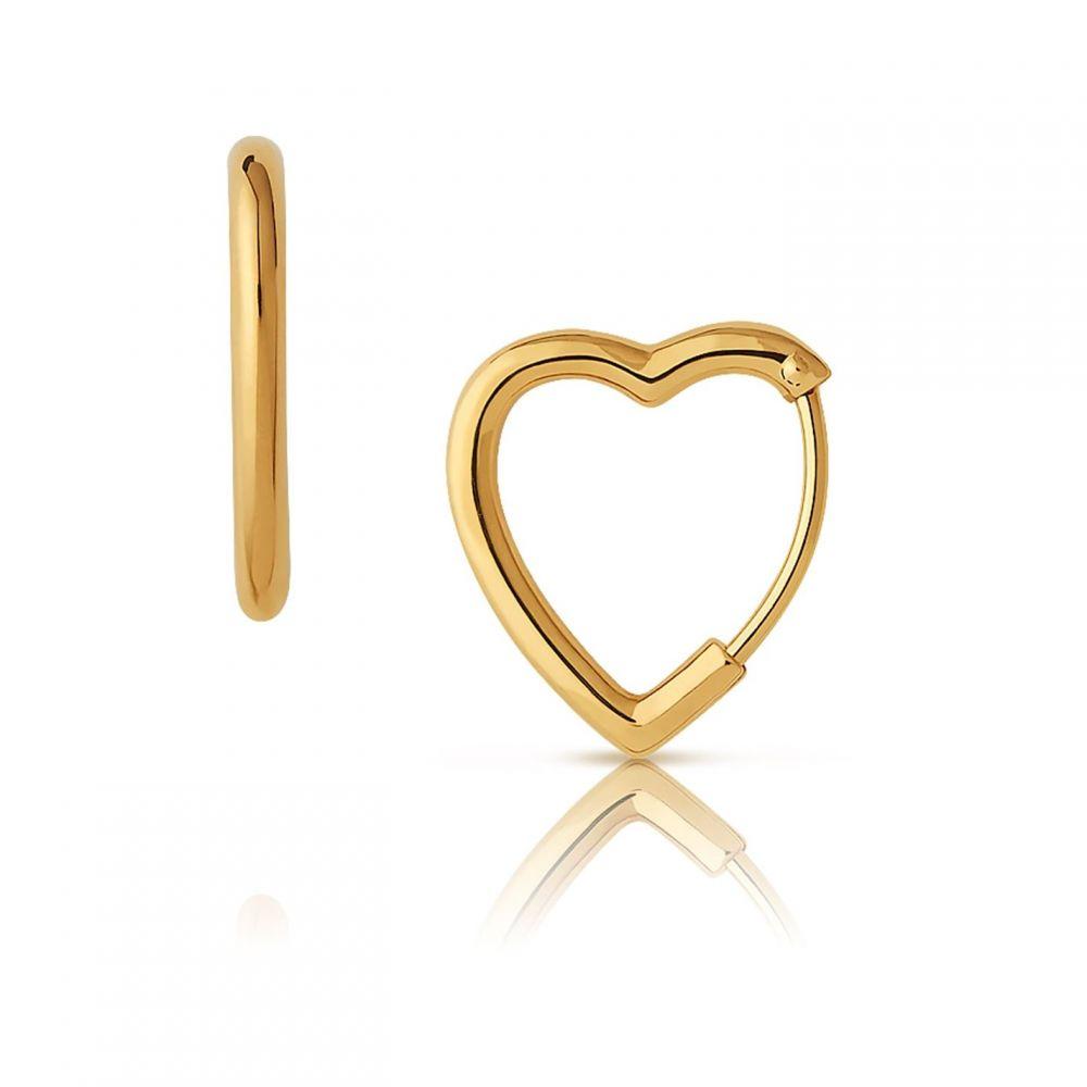 リンクス オブ ロンドン Links of London レディース ジュエリー・アクセサリー イヤリング・ピアス【Gold Vermeil Mini Heart Hoop Earrings】Gold