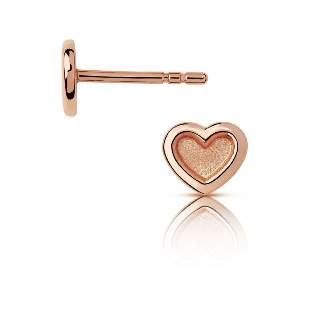 リンクス オブ ロンドン Links of London レディース ジュエリー・アクセサリー イヤリング・ピアス【Rose Gold Vermeil Heart Stud Earrings】Rose Gold