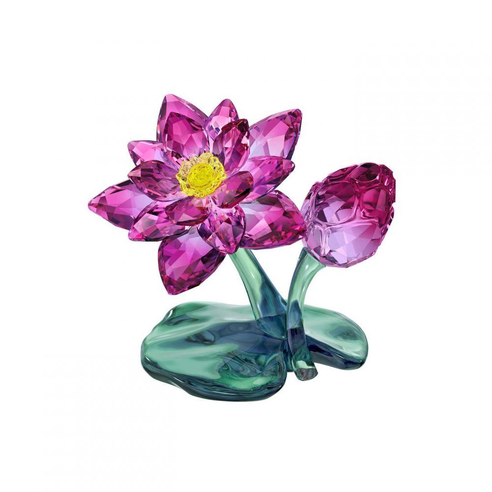 スワロフスキー レディース ジュエリー セットアップ 高級 アクセサリー その他アクセサリー サイズ交換無料 Swarovski Multi-Coloured Lotus