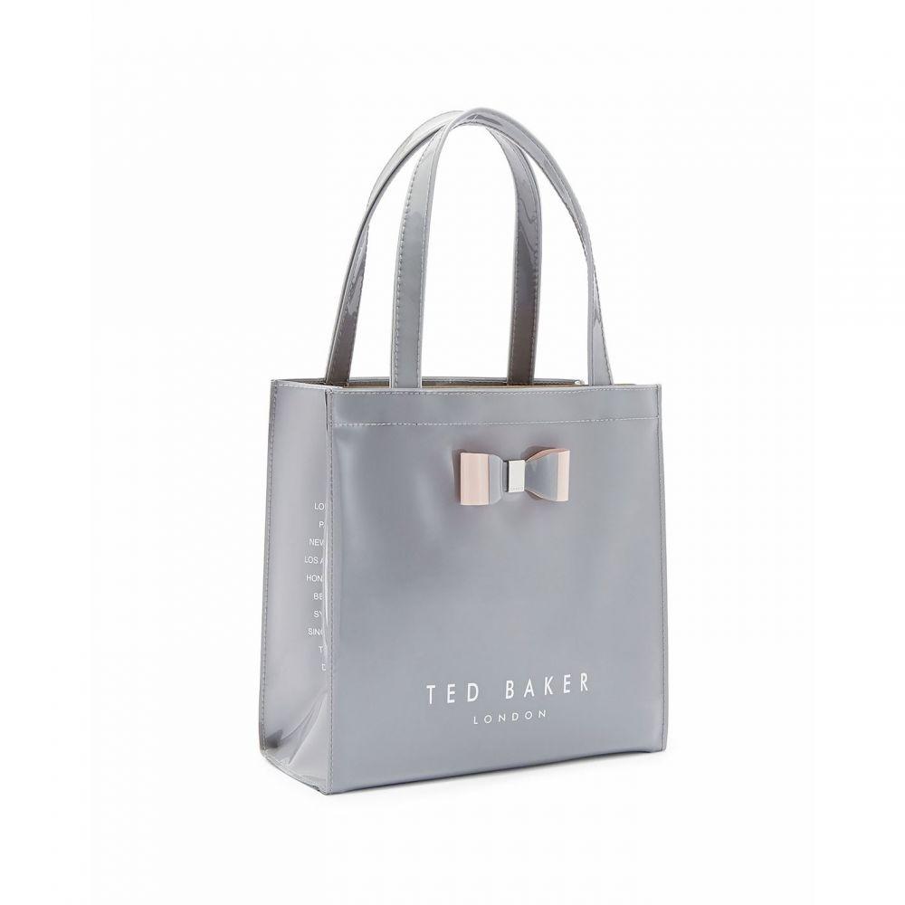 テッドベーカー Ted Baker レディース バッグ【Silcon Soft Small Icon Bag】Grey