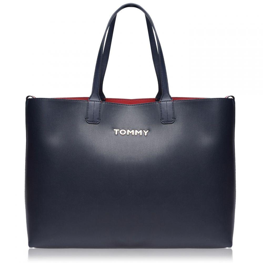 トミー ヒルフィガー Tommy Hilfiger レディース バッグ【Tommy Iconic L TOT】Tommy Navy
