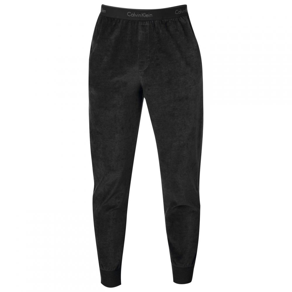 カルバンクライン Calvin Klein Underwear メンズ インナー・下着 パジャマ・ボトムのみ【Soft Jogging Bottoms】Washed Black