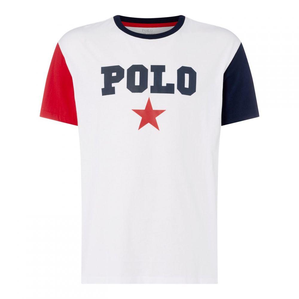 ラルフ ローレン Polo Tシャツ【Polo Ralph Ralph Lauren メンズ Prnt トップス Tシャツ【Polo Slim Fit Prnt T Sn92】White Multi, 自然食品のたいよう:cd8a5bb6 --- officewill.xsrv.jp