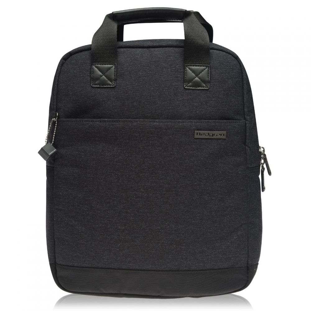 ヘデグレン Hedgren ユニセックス バッグ バックパック・リュック【Walker Slim Backpack】Asphalt