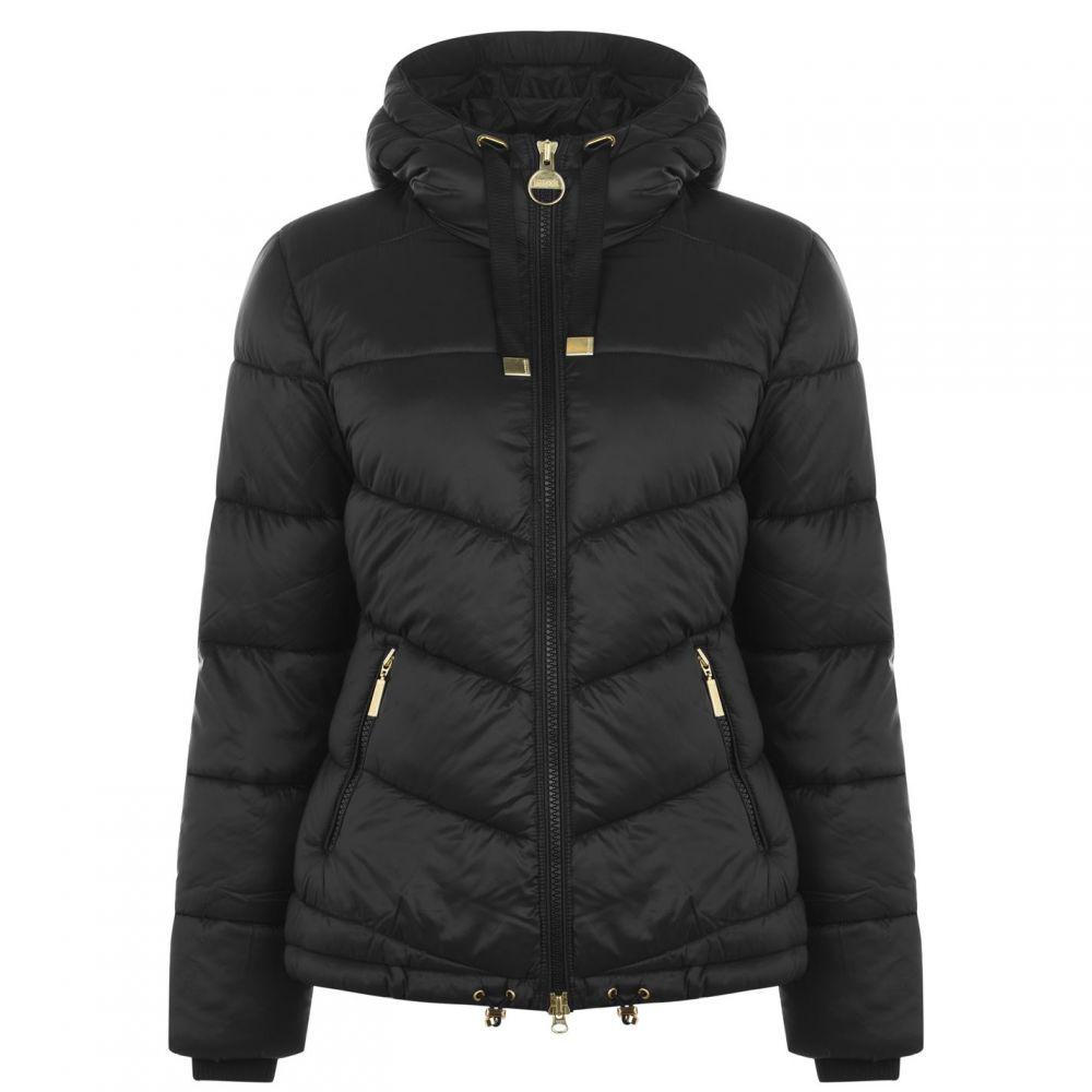 バブアー Barbour International レディース ジャケット アウター【brace quilted jacket】BLACK