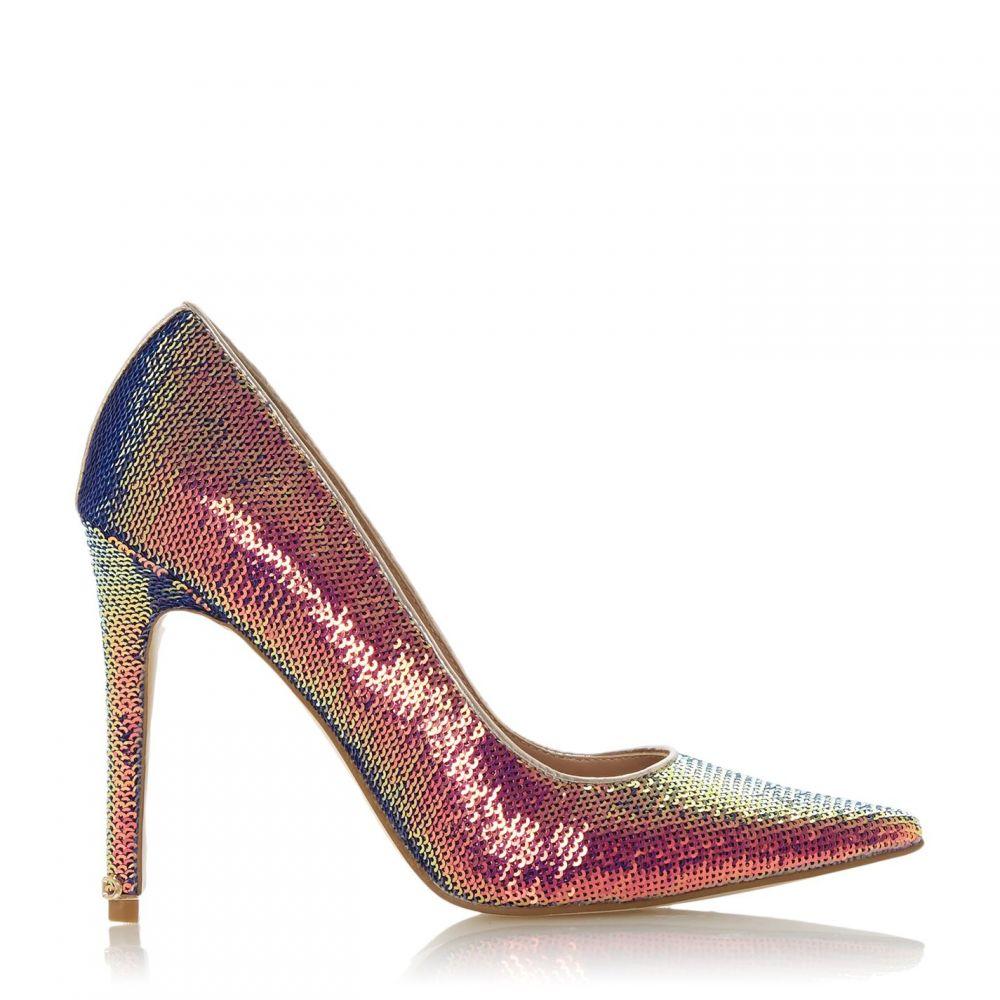 デューン Dune レディース パンプス ピンヒール シューズ・靴【amaretto pointed toe stiletto heel court shoes】Multi