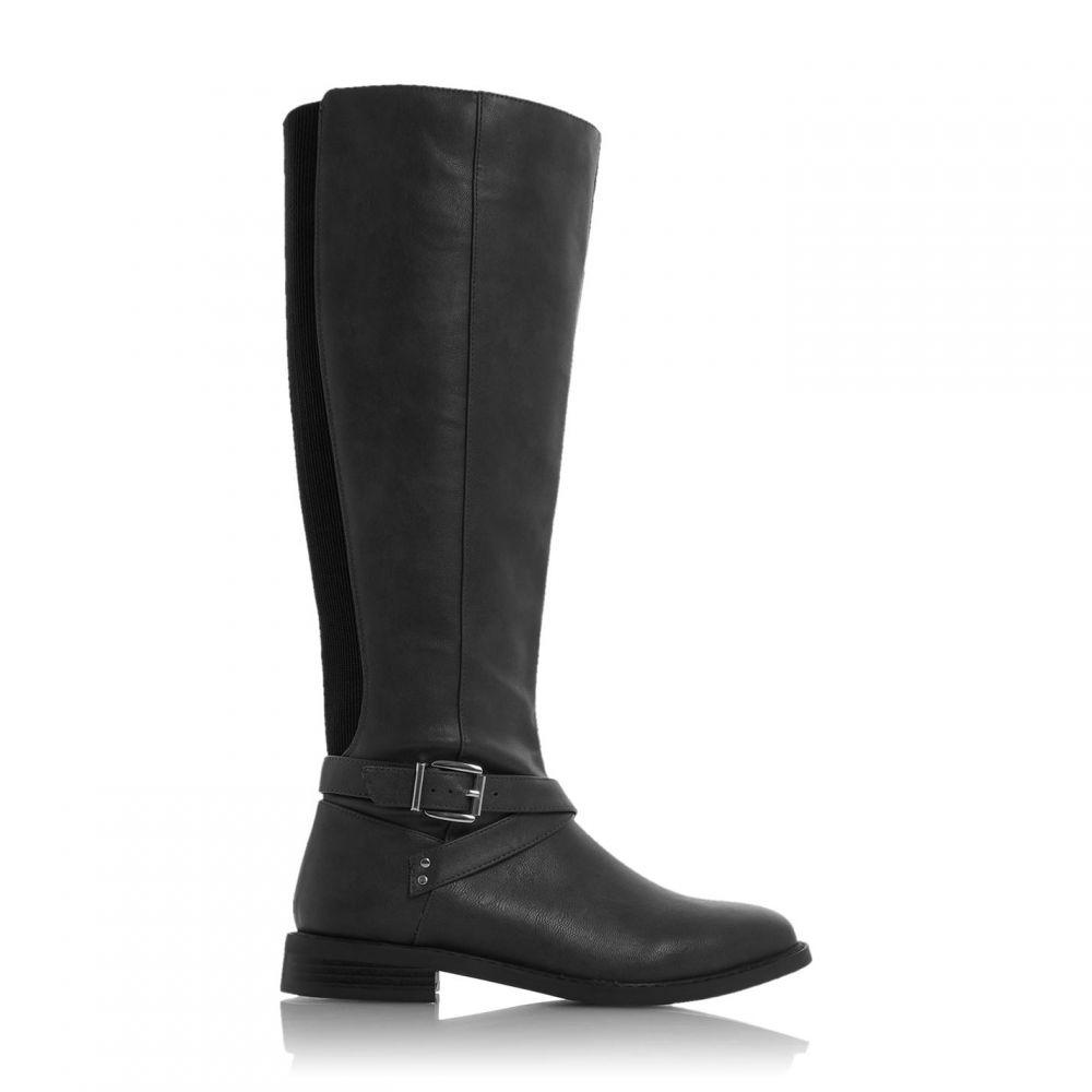 デューン Dune レディース ブーツ シューズ・靴【traker knee high boots】Black