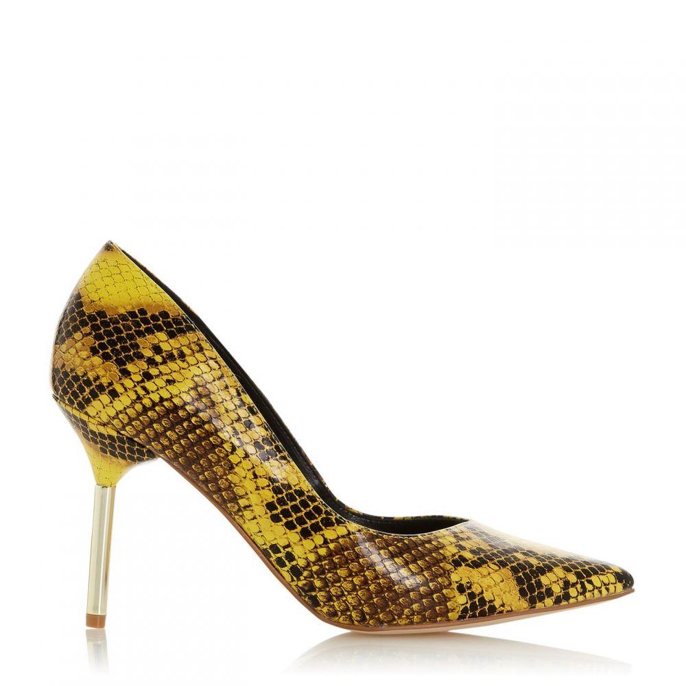 デューン Dune レディース パンプス シューズ・靴【business metal heel vcut court shoes】Yellow