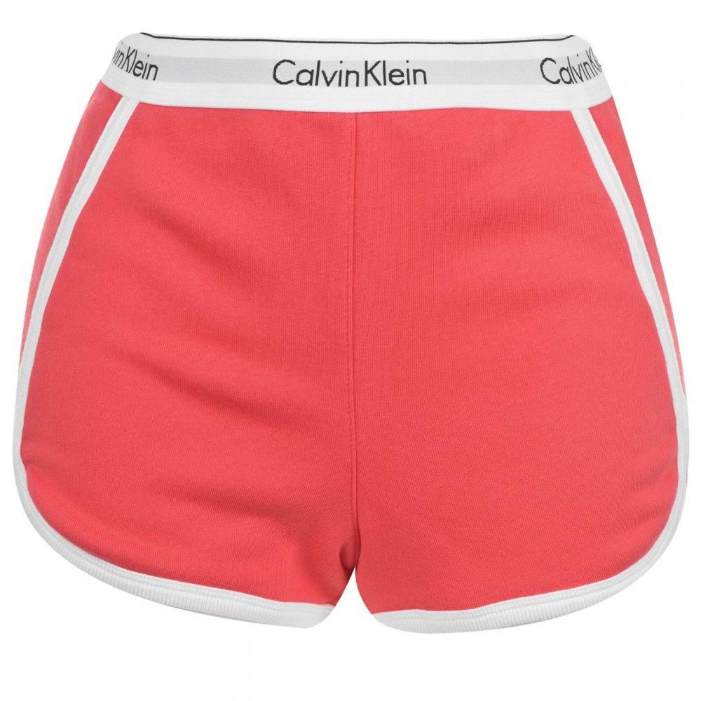 カルバンクライン Calvin Klein レディース パジャマ・トップのみ インナー・下着【ck stripe sht】FIRE LILY