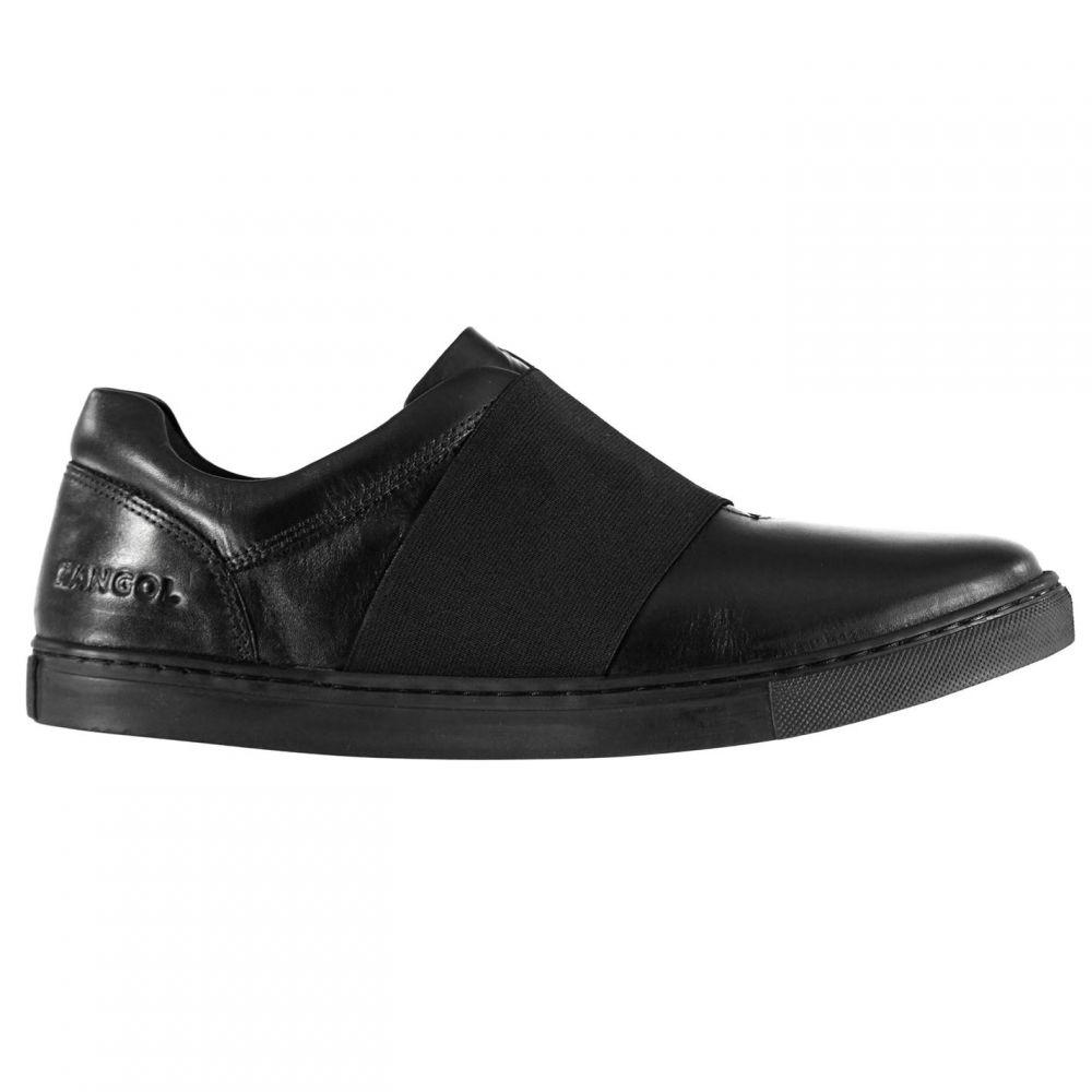 カンゴール Kangol メンズ スリッポン・フラット シューズ・靴【Latham Slip On Shoes】Black