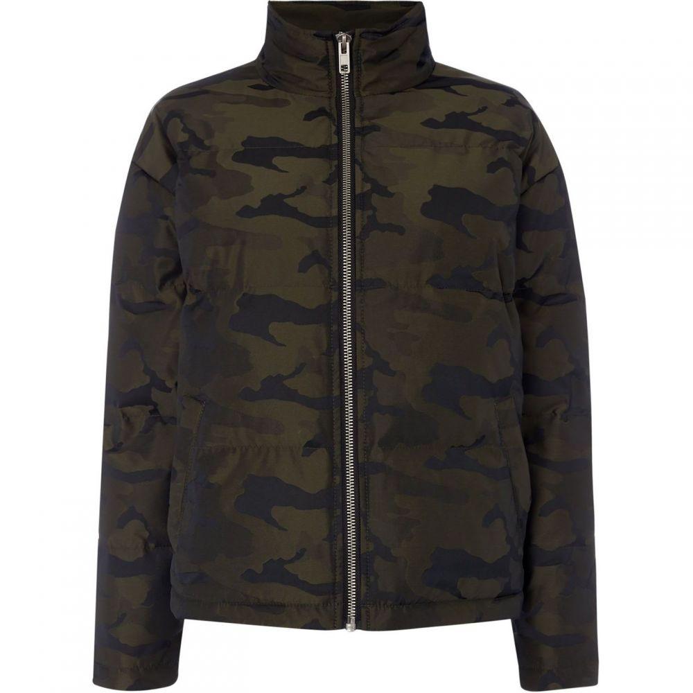 レーベルラボ Label Lab レディース ダウン・中綿ジャケット アウター【Camo puffa jacket】Khaki