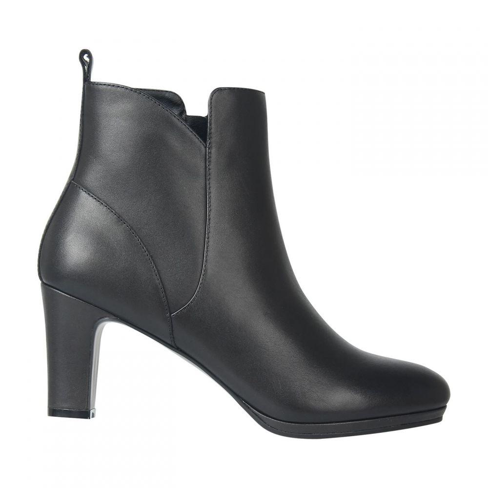 リネアペレ Linea レディース ブーツ シューズ・靴【TallChelsHeel】Black