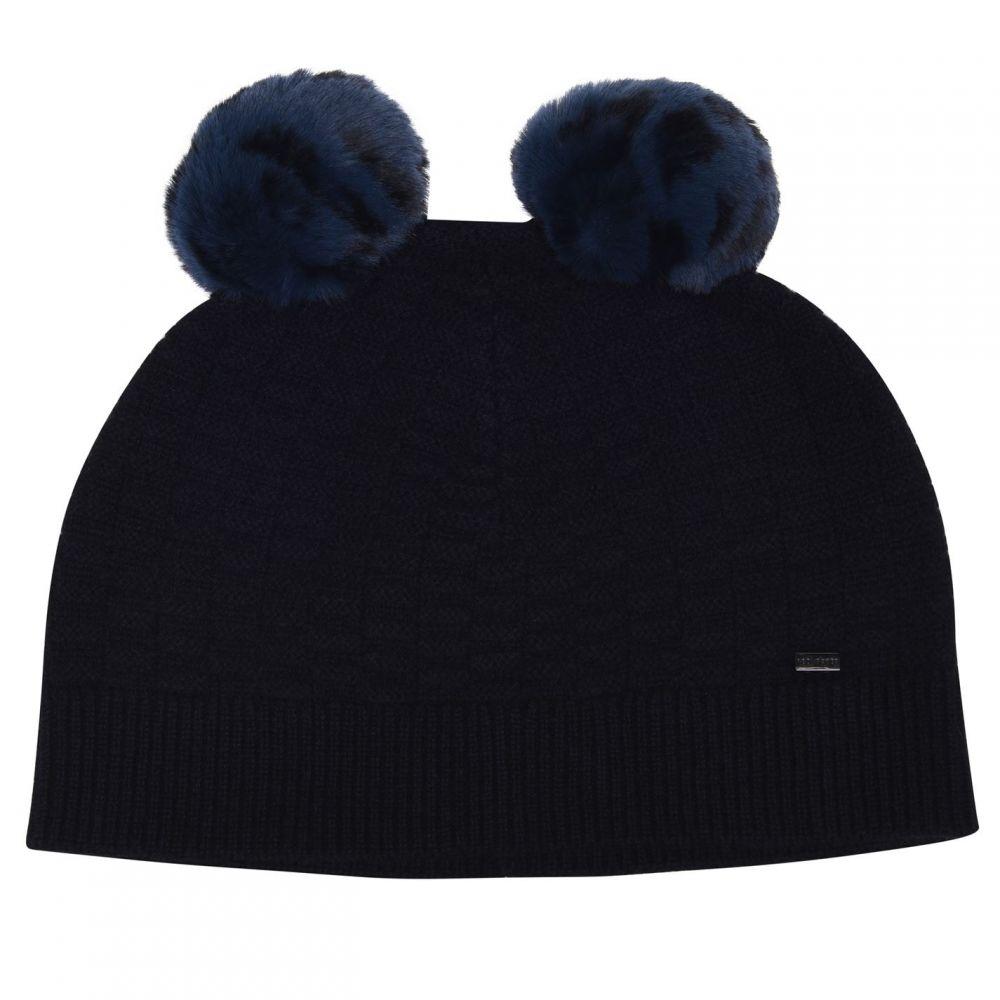テッドベーカー レディース 帽子 その他帽子 【サイズ交換無料】 テッドベーカー Ted Baker レディース 帽子 【Ted FauxFur Leysaai】dk blue