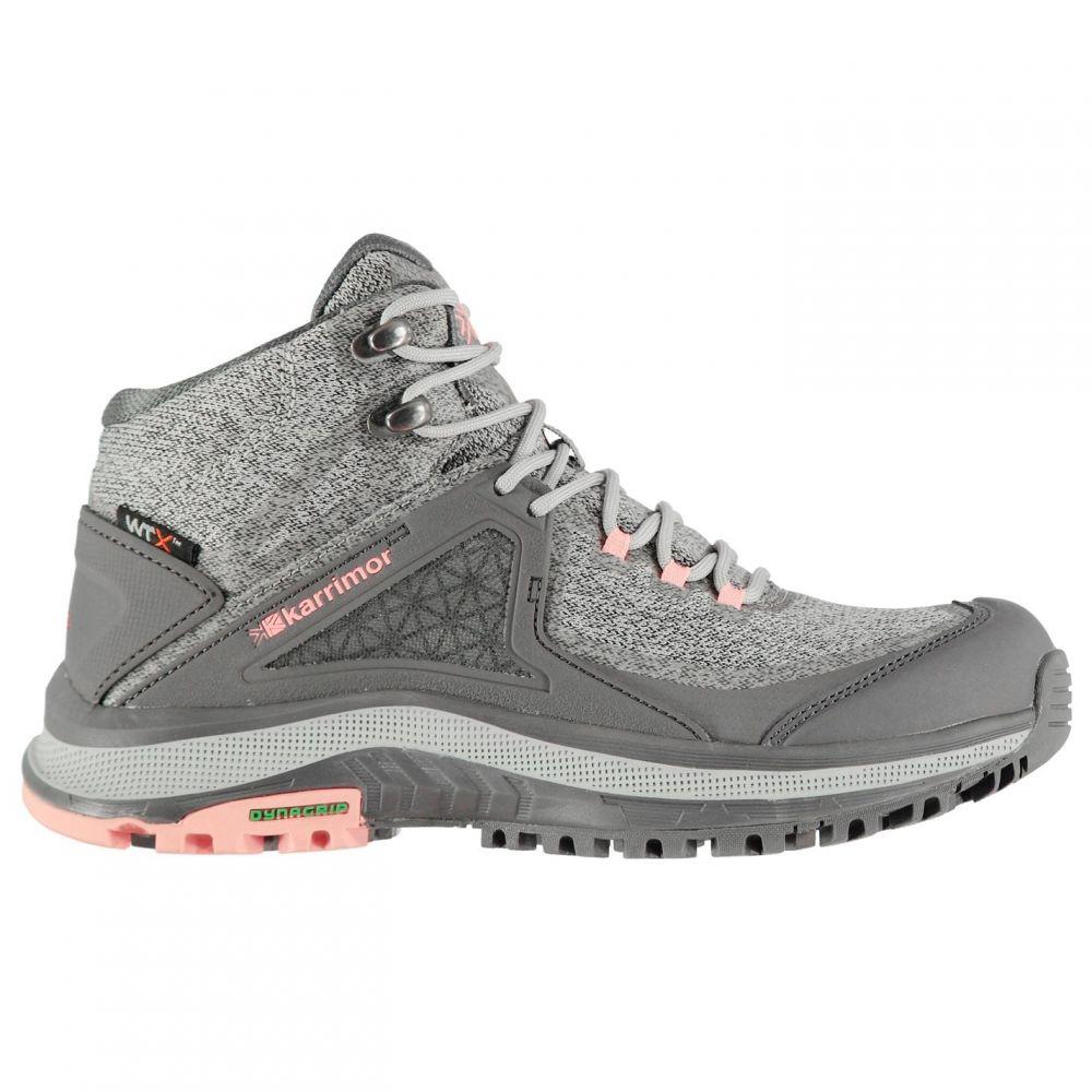 カリマー Karrimor レディース ブーツ シューズ・靴【Stanedge Walking Boots】Grey/Coral