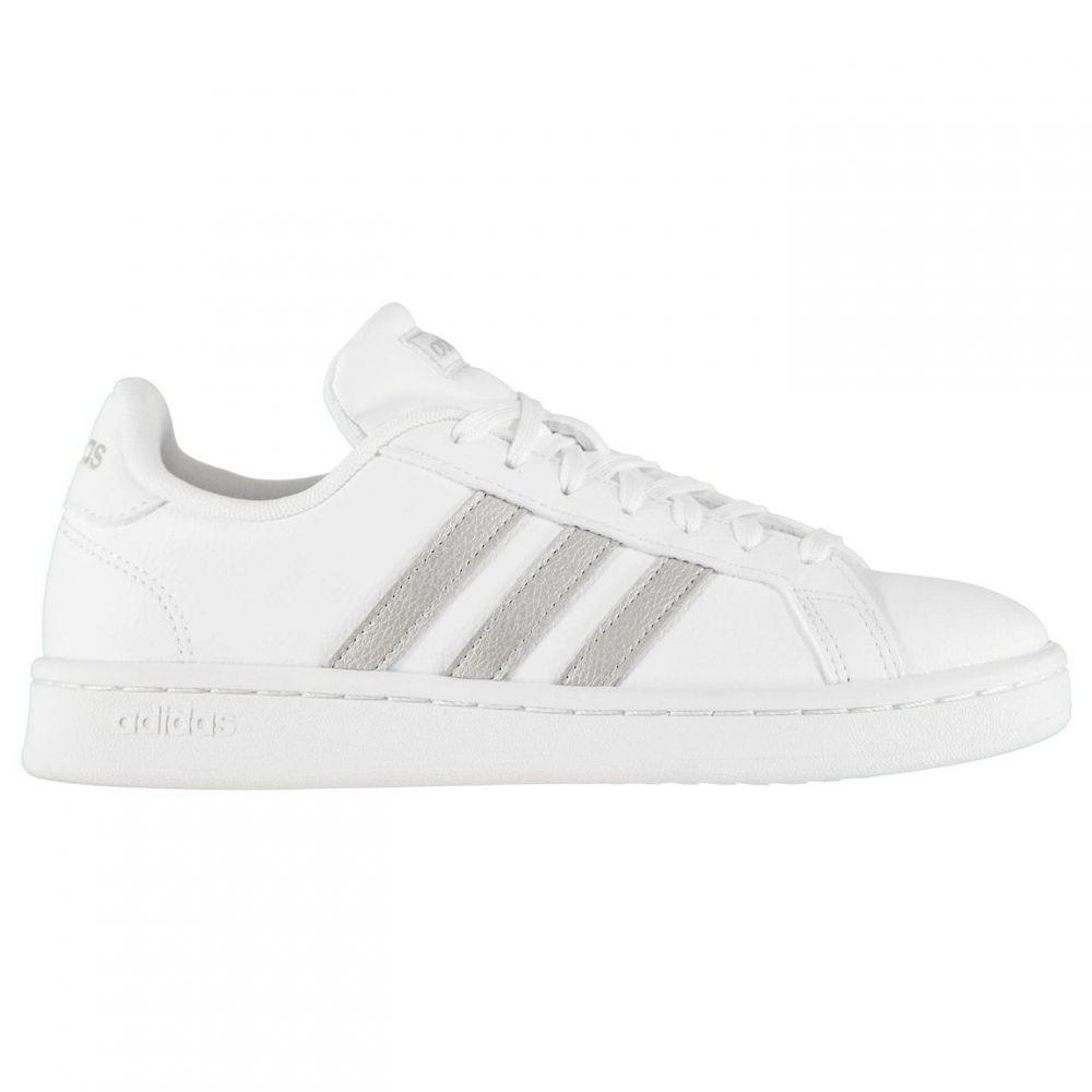 アディダス adidas レディース スニーカー シューズ・靴【Grand Court Trainers】White/Gold