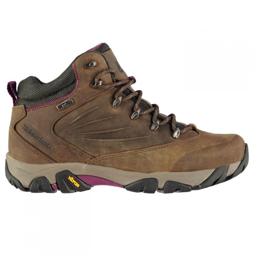 カリマー Karrimor レディース ブーツ シューズ・靴【Kinder Walking Boots】Brown