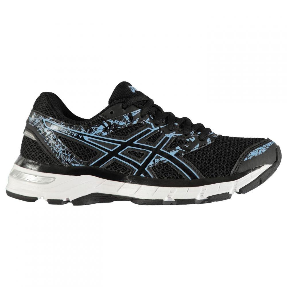 アシックス Asics レディース ランニング・ウォーキング シューズ・靴【Gel Excite 4 Running Shoes】Black/Blue