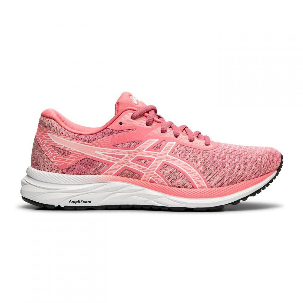 アシックス Asics レディース スニーカー シューズ・靴【Gel Excite Twist 6 Trainers】Pink/White