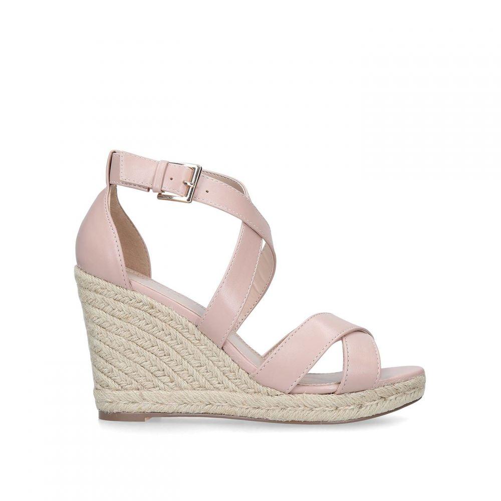 カーベラ Carvela レディース サンダル・ミュール シューズ・靴【Wide Fit Smashing Sandals】BEIGE