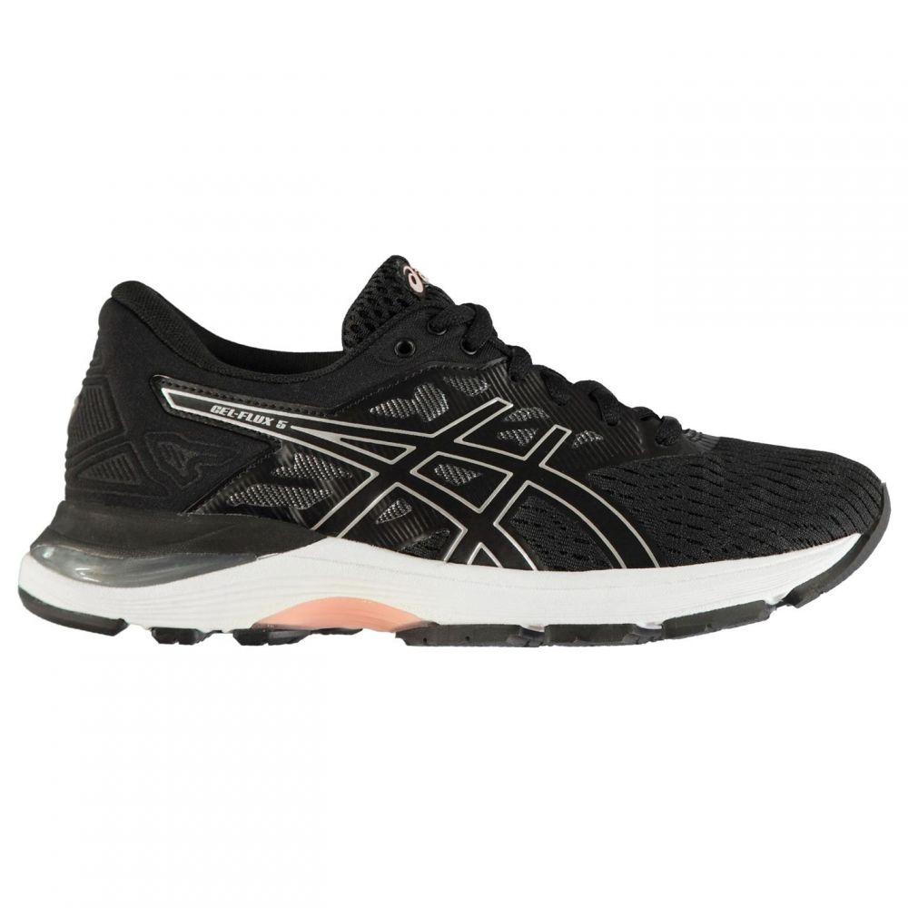 アシックス Asics レディース ランニング・ウォーキング シューズ・靴【Gel Flux 5 Running Shoes】Black/Pink