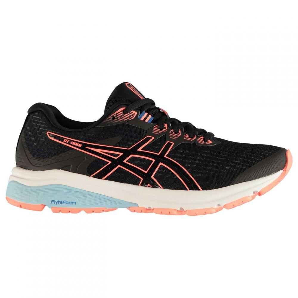 アシックス Asics レディース ランニング・ウォーキング シューズ・靴【GT 1000 8 Running Shoes】Black/Coral