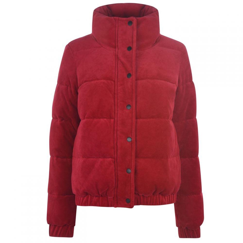 ダナ キャラン ニューヨーク DKNY Sport レディース コート アウター【Velour Padded Coat】Murano