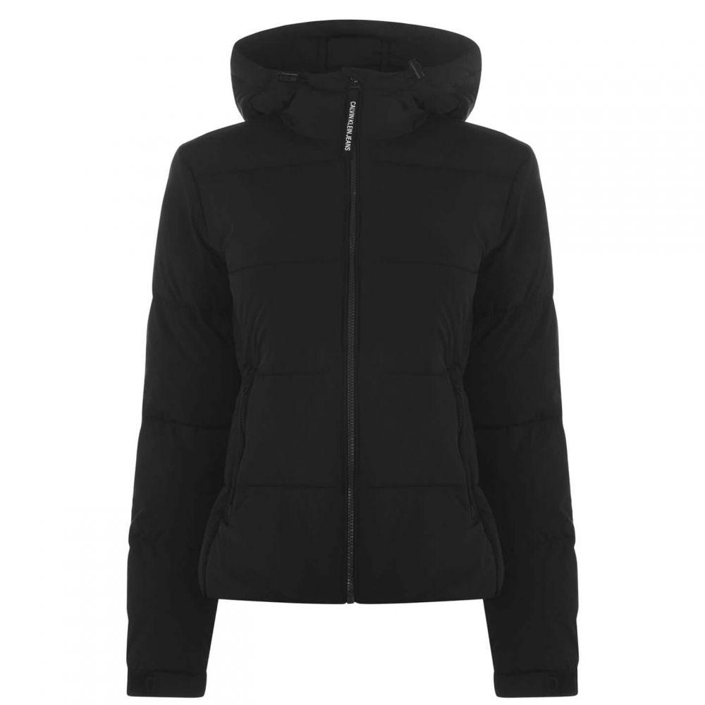 カルバンクライン Calvin Klein Jeans レディース ジャケット アウター【Stretch Jacket】CK BLACK