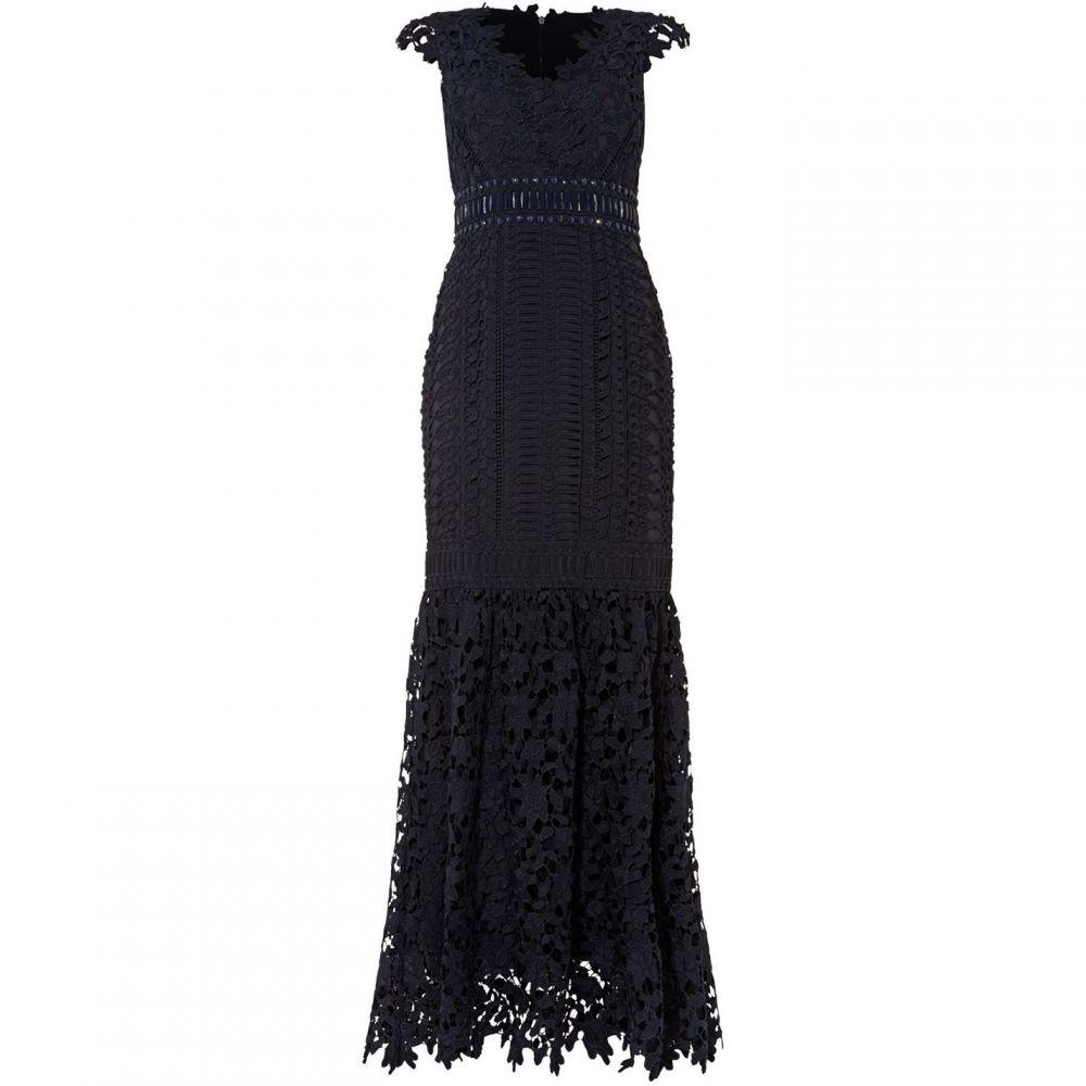 フェーズ エイト Phase Eight レディース ワンピース ワンピース・ドレス【Sauvan Lace Dress】Blue
