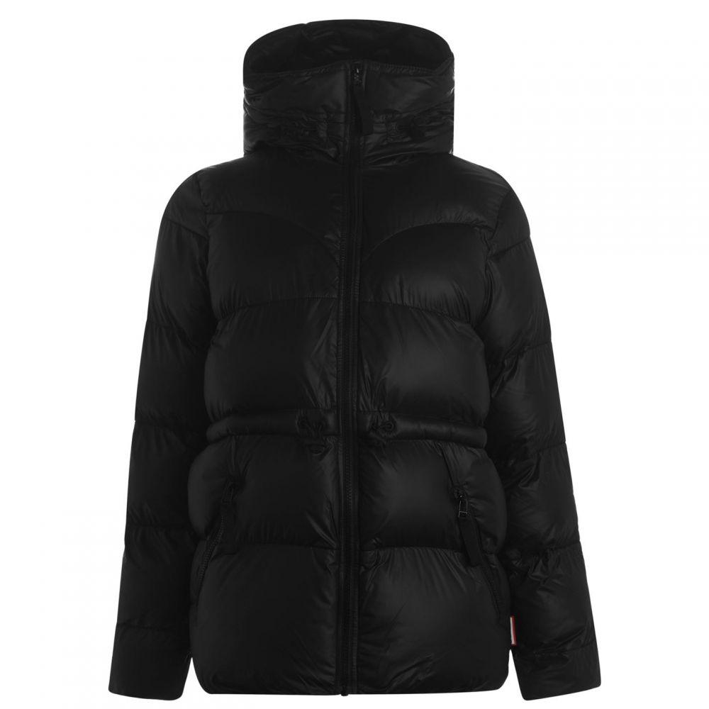 ハンター Hunter レディース ダウン・中綿ジャケット アウター【OG Aline Puffer Jacket】Black