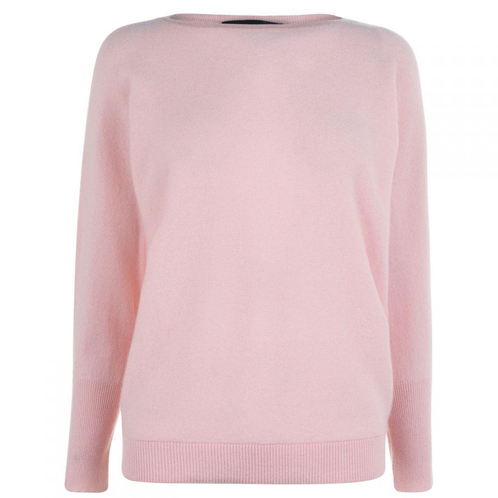 ラルフ ローレン Lauren by Ralph Lauren レディース ニット・セーター トップス【Borka Long Sleeve Sweater】Pink/Cream