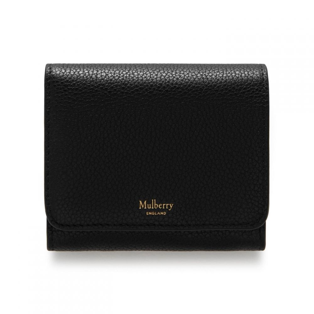 マルベリー Mulberry レディース 財布 【Small Continental French Purse】Black