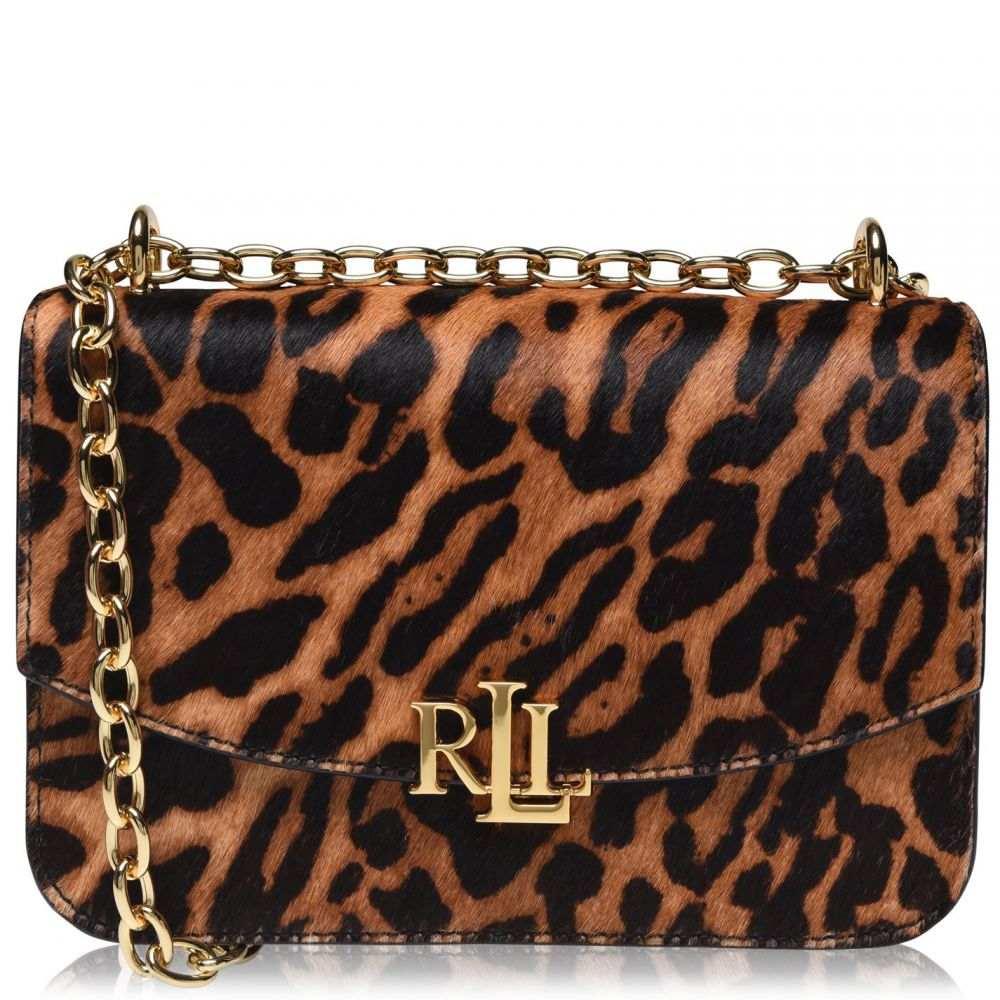 ラルフ ローレン Lauren by Ralph Lauren レディース ハンドバッグ バッグ【LRL Elms M Lep】Leopard