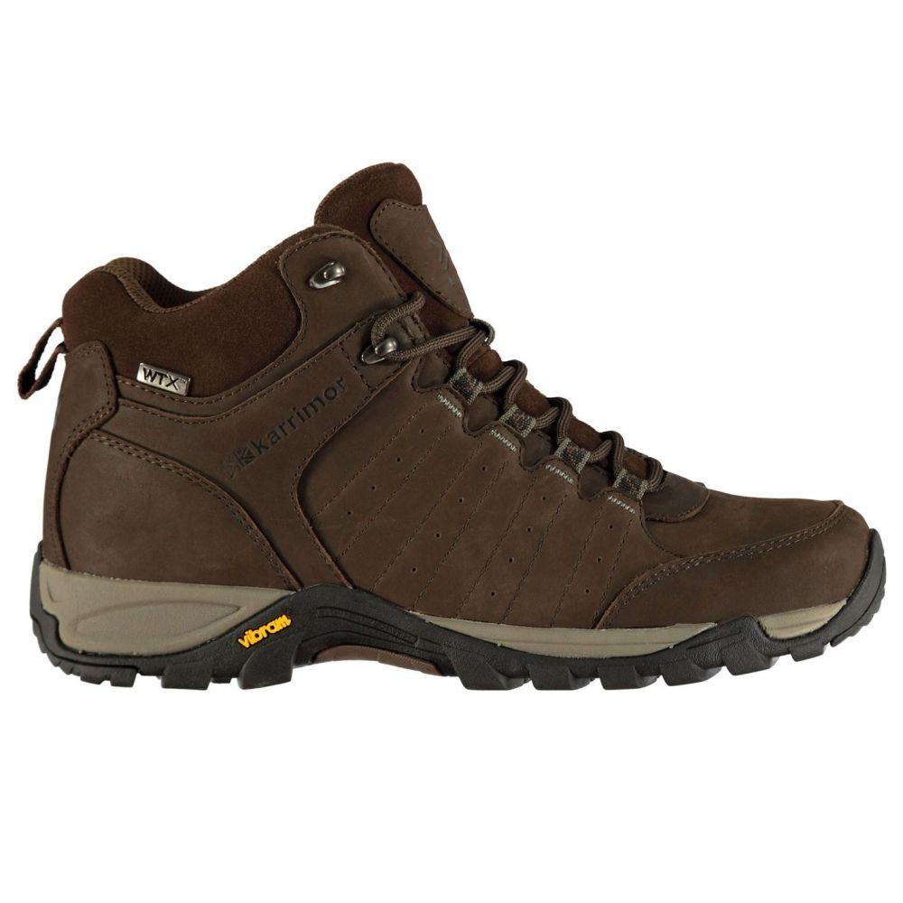 カリマー Karrimor メンズ ランニング・ウォーキング ブーツ シューズ・靴【Journey Mid WTX Walking Boots】Brown