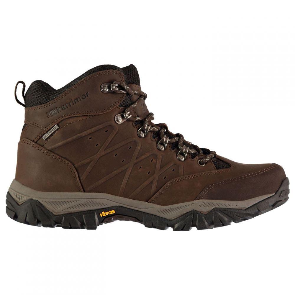 カリマー Karrimor メンズ ランニング・ウォーキング ブーツ シューズ・靴【Panther Mid Walking Boots】Brown