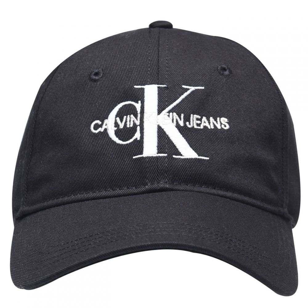 カルバンクライン メンズ 帽子 キャップ 【サイズ交換無料】 カルバンクライン Calvin Klein Jeans メンズ キャップ 帽子【Monogram Embroidered Cap】BlackBeauty BAE