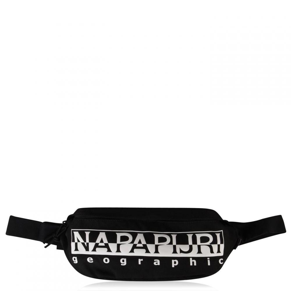ナパピリ Napapijri メンズ ボディバッグ・ウエストポーチ バッグ【Logo Bum Bag】Black