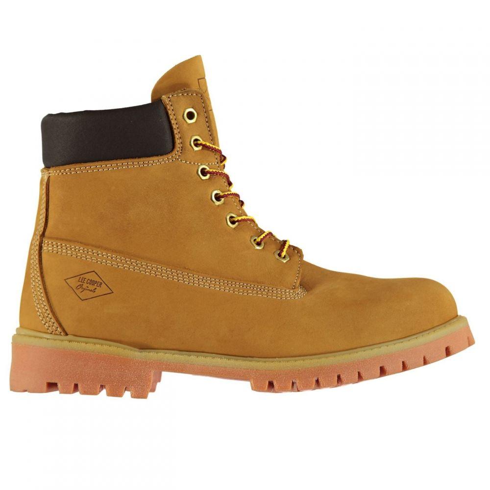 リークーパー Lee Cooper メンズ ブーツ シューズ・靴【6in Rugged Boots】Honey