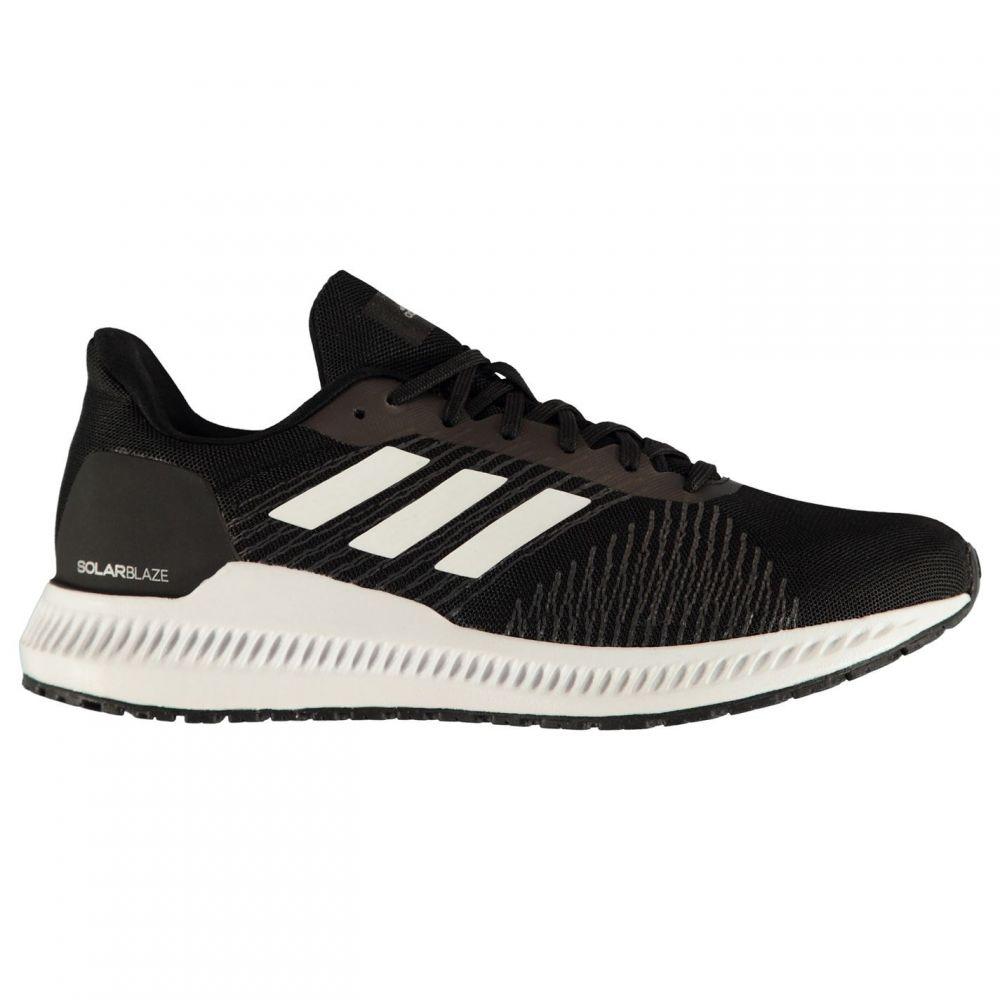 アディダス adidas メンズ ランニング・ウォーキング シューズ・靴【Solar Blaze Running Shoes】Black/White