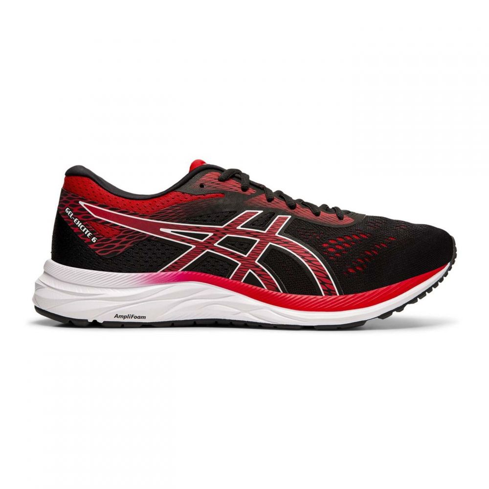 アシックス Asics メンズ ランニング・ウォーキング シューズ・靴【Gel Excite 6 Running Shoes】Black/Red
