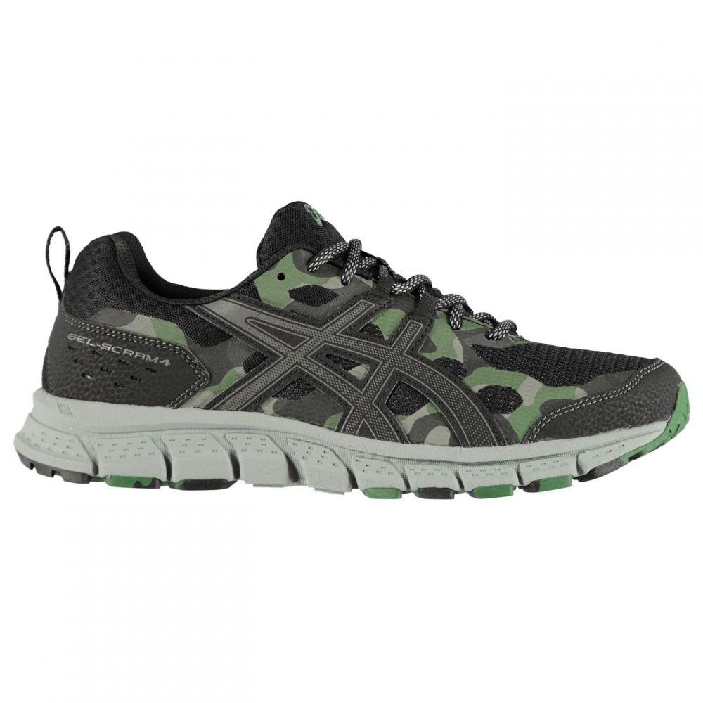 アシックス Asics メンズ ランニング・ウォーキング シューズ・靴【Gel Scram 4 Trail Running Shoes】Black/Grey