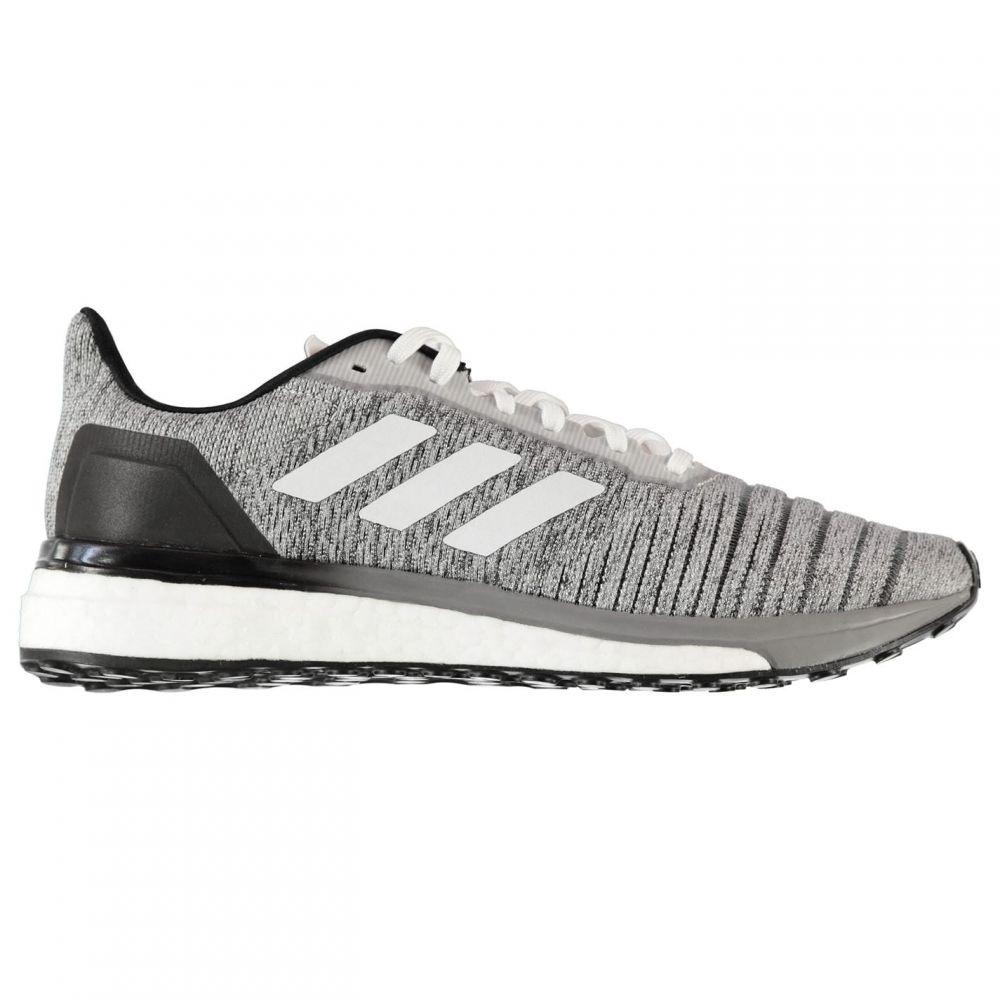 アディダス adidas メンズ ランニング・ウォーキング シューズ・靴【SolarDrive Running Shoes】White/Black