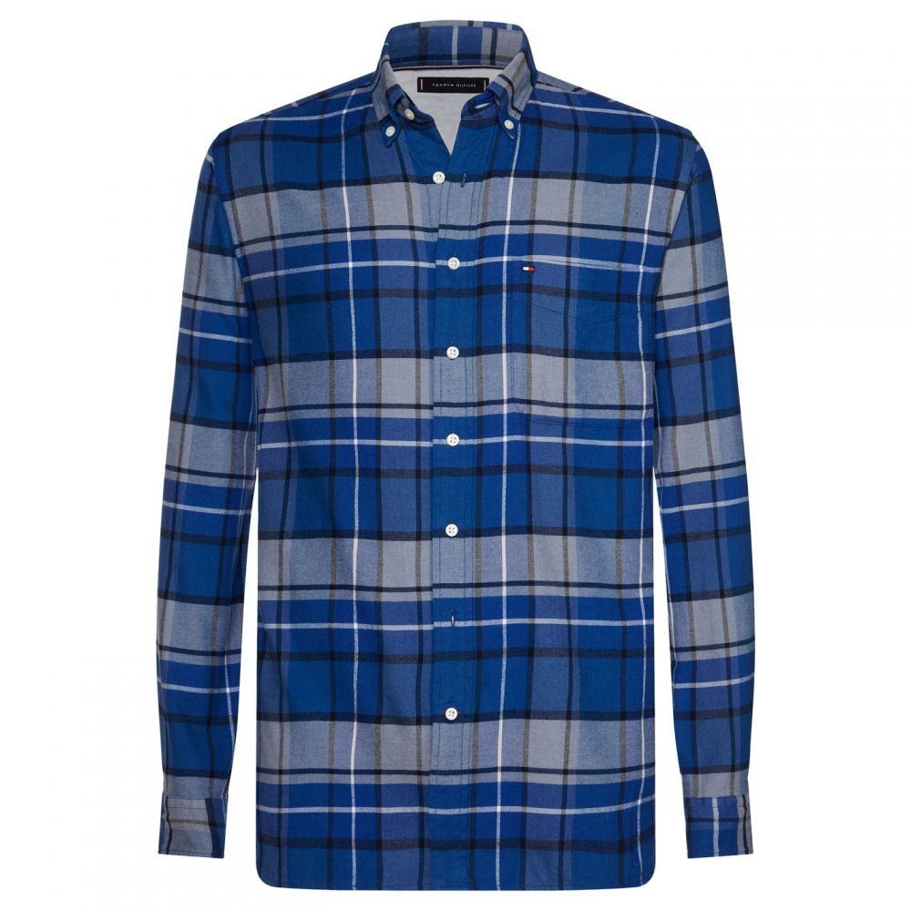 トミー ヒルフィガー Tommy Hilfiger メンズ シャツ トップス【Classic Tartan Shirt】Mixed Blue