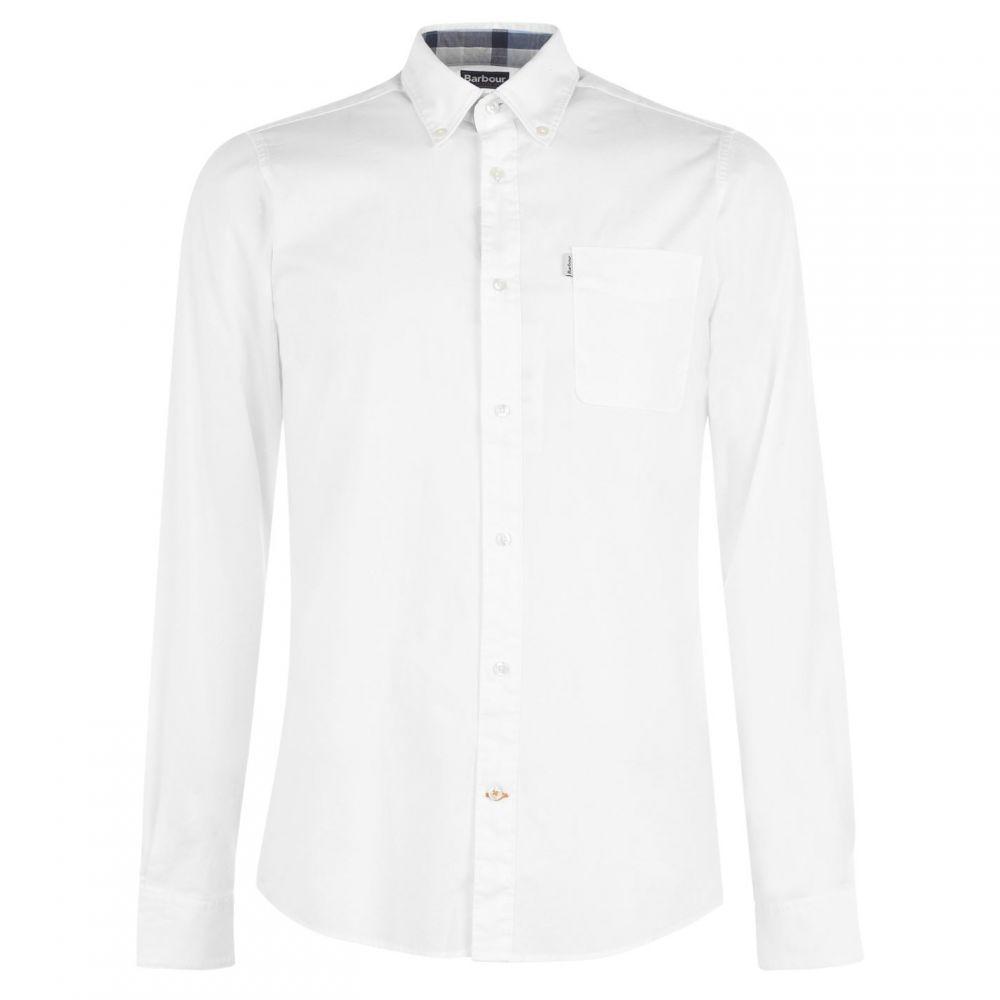 バブアー Barbour Lifestyle メンズ シャツ トップス【Heatherbank Shirt】White WH