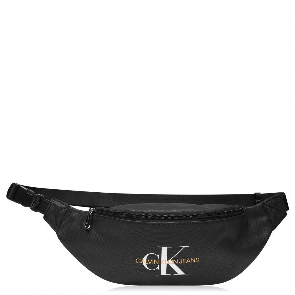 カルバンクライン Calvin Klein Jeans メンズ ボディバッグ・ウエストポーチ バッグ【Round Straight Bum Bag】Black