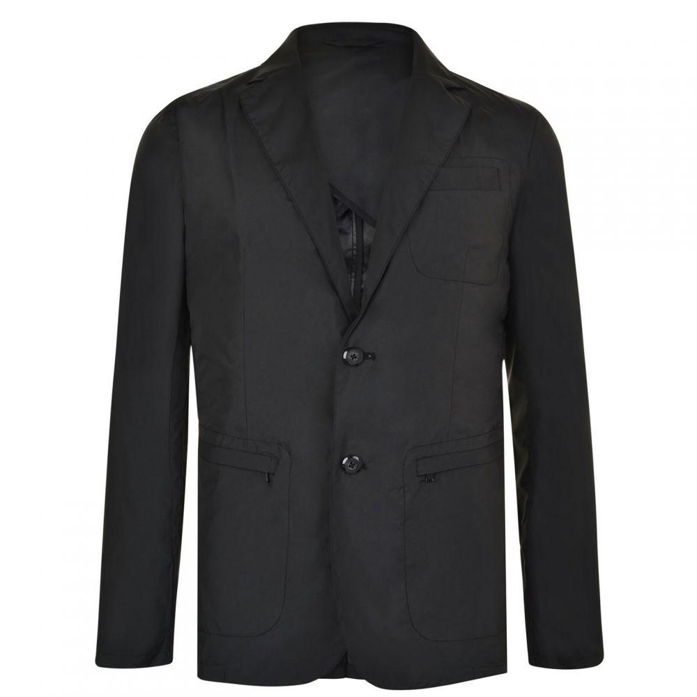 ダナ キャラン ニューヨーク DKNY メンズ スーツ・ジャケット アウター【Waterproof Blazer】Black