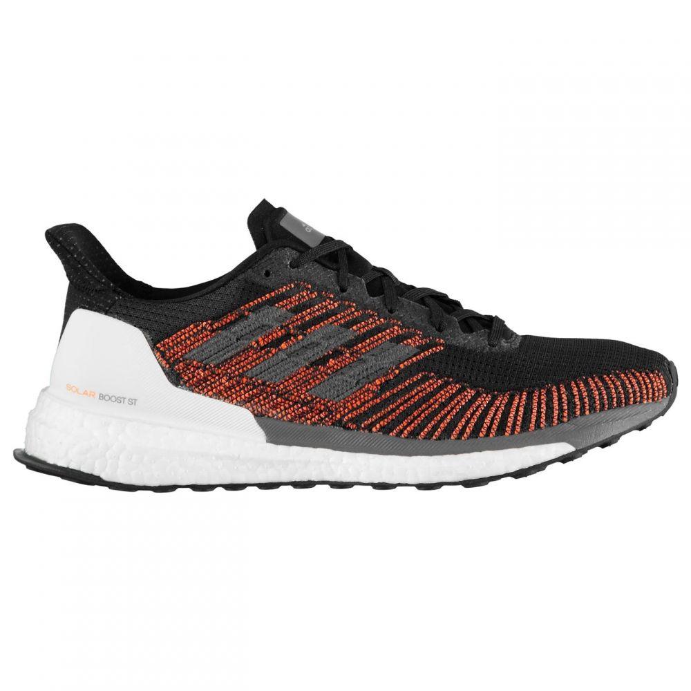 アディダス adidas メンズ ランニング・ウォーキング シューズ・靴【SolarBoost ST Running Shoes】Black/Orange