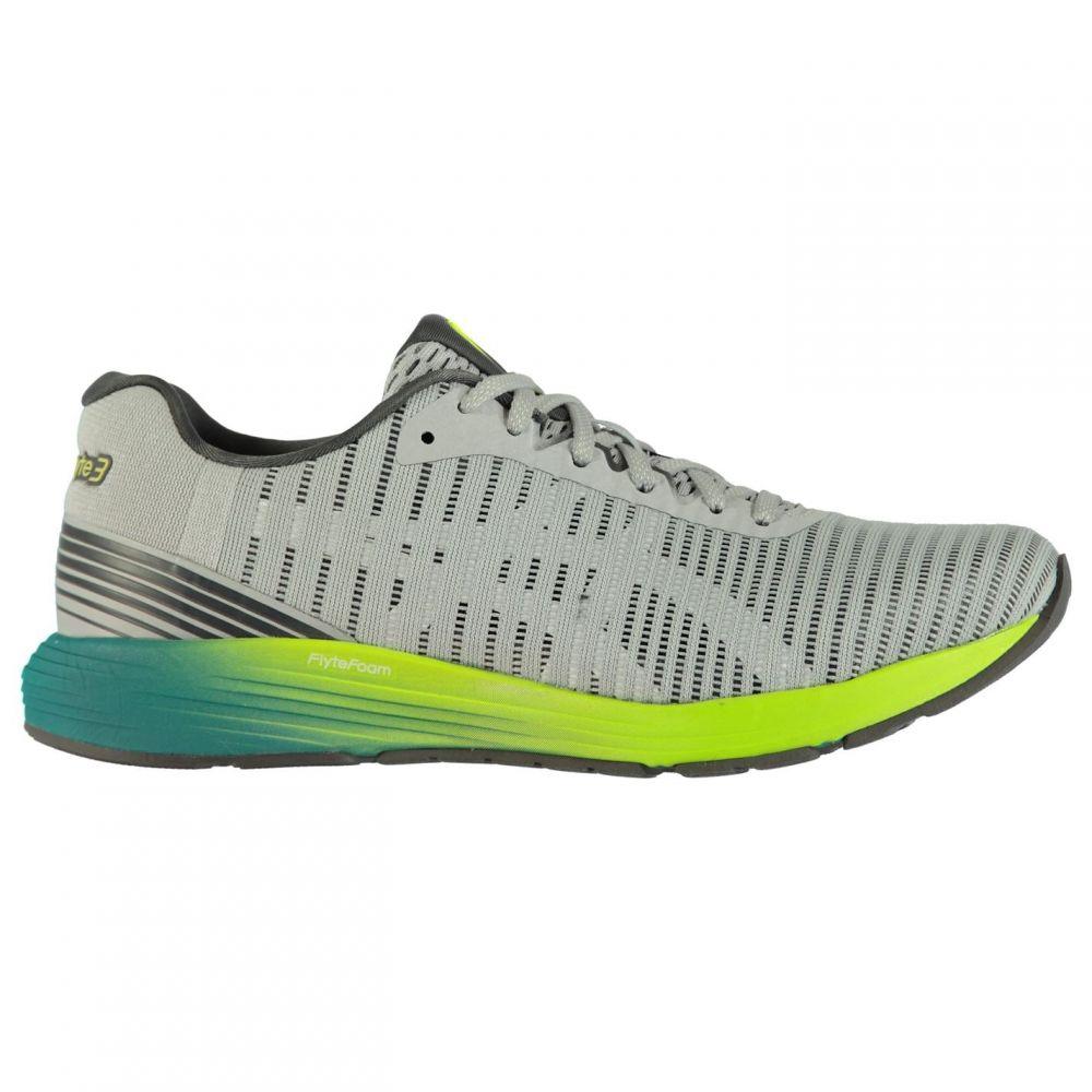 アシックス メンズ ランニング・ウォーキング シューズ・靴 【サイズ交換無料】 アシックス Asics メンズ ランニング・ウォーキング シューズ・靴【DynaFlyte 3 Running Shoes】Grey/White