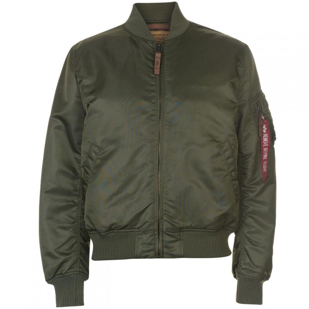 アルファ インダストリーズ Alpha Industries メンズ ブルゾン ミリタリージャケット アウター【MA1 VF 59 Bomber Jacket】Sage Green