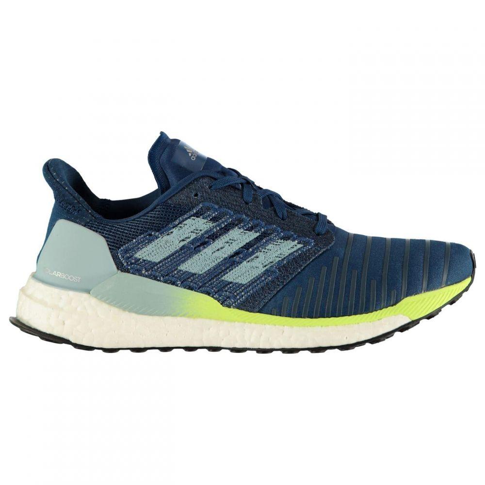 アディダス adidas メンズ ランニング・ウォーキング シューズ・靴【Solar Boost Running Shoes】Blue/Yellow