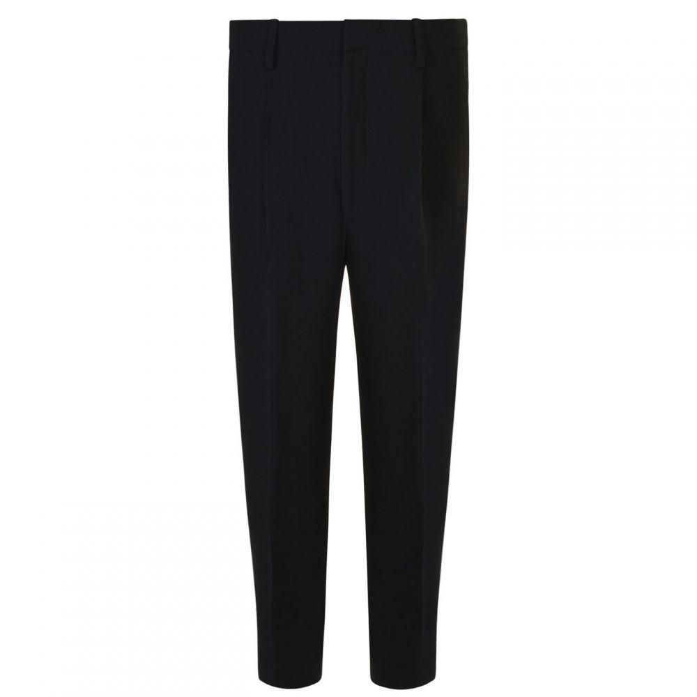 ダナ キャラン ニューヨーク DKNY メンズ スラックス ボトムス・パンツ【Cropped Pleat Trousers】Black